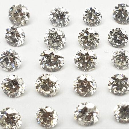 Round Shape - CVD (Type llA) Diamonds