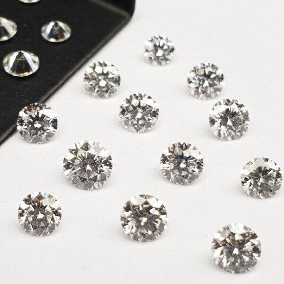 Loose Lab Grown CVD HPHT Diamond