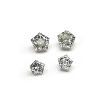 Hexagon Shape - Lab Grown HPHT Diamonds
