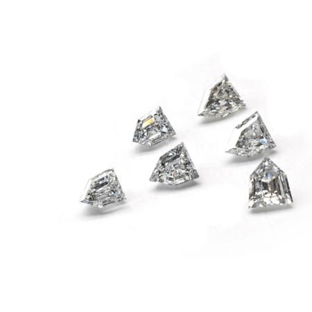 Shield Shape - Lab Grown HPHT Diamonds