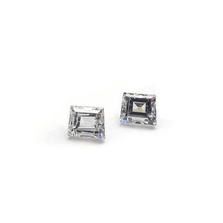 Trapezoid Shape - Lab Grown HPHT Diamonds