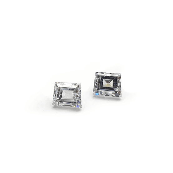 trapezoid Shape Loose Lab Grown Diamond
