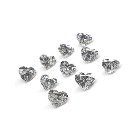 Heart Shape - Lab Grown HPHT Diamonds