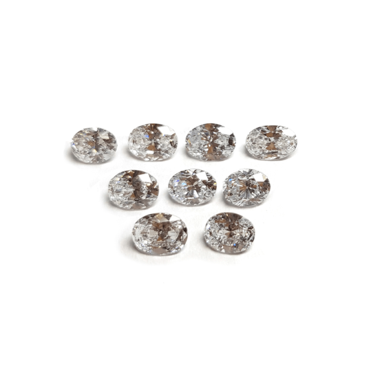 oval shape loose lab grown diamond