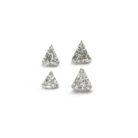 Triangle Shape - Lab Grown HPHT Diamonds