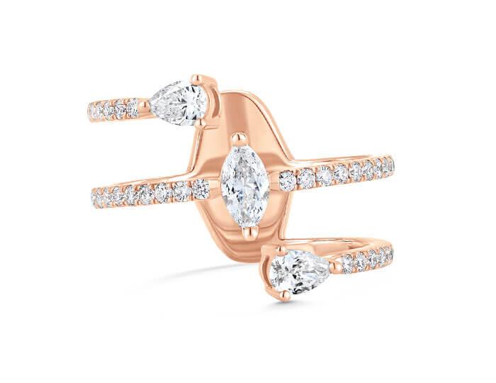 Pear cut diamonds Vs Marquise cut diamonds