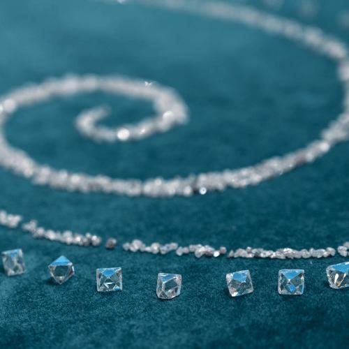 radiant shaped diamond